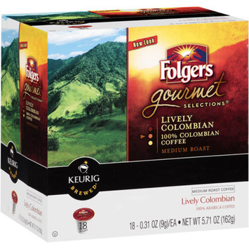 Smucker s Keurig Folgers Colombian Coffee K-Cups 18ct