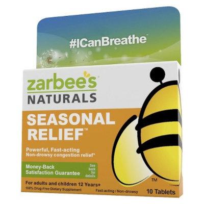 Zarbee's Naturals Seasonal Relief Tablets - 10 Count