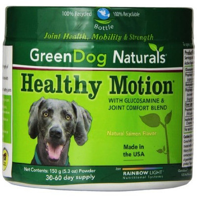 Rainbow Light GreenDog Naturals Healthy Motion Powder, 150-Grams