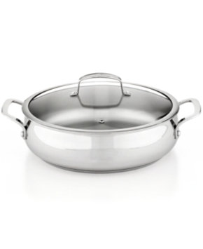 Tools Of The Trade Belgique Stainless Steel 5 Qt. Covered Sauteuse