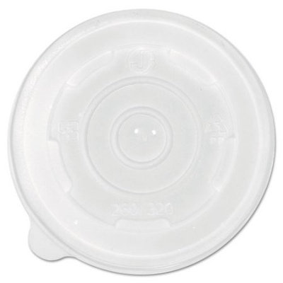 Eco-products,inc. 8 Oz Translucent Plastic Soup Cup Lid (Set of 1000)