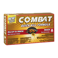 Combat Quick Kill Formula Small Roach Bait Stations - 12 CT