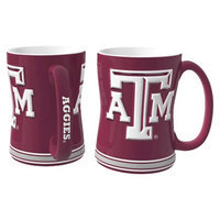 NCAA Texas A&M Aggies Boelter Brands 2 Pack Sculpted Relief Style Coffee