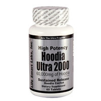 Hoodia Ultra 2000 Time Release HIGH POTENCY 60,000 mg of Hoodia per bottle