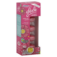 Glade Scented Oil Candles, Polka Dot Petals, Refills, 4 candles [2 oz (57 g)]