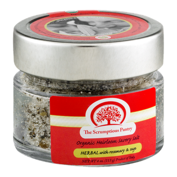 The Scrumptious Pantry Organic Heirloom Savory Salt Herbal