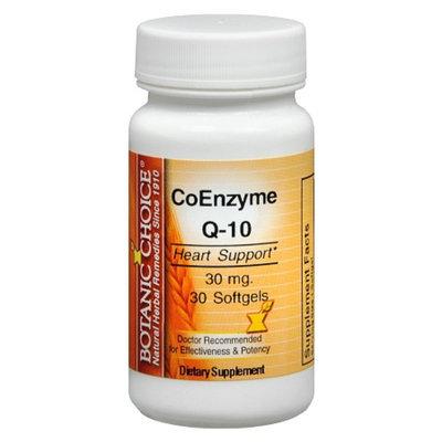 Botanic Choice CoEnzyme Q-10 30 mg Dietary Supplement Softgels