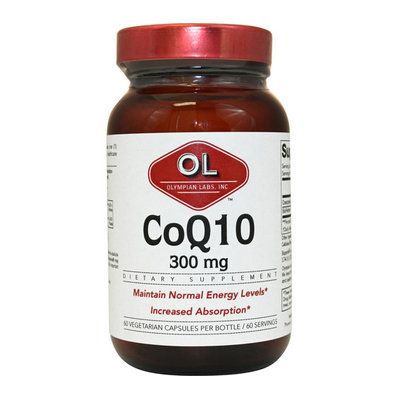 Olympian Labs Co Q10 300 mg 60 Vegetarian Capsules