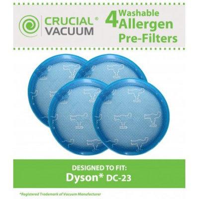 Crucial Vacuum 4 Dyson DC23 Pre Filters, Part # 913394-01