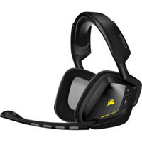 Corsair VOID Wireless Dolby 7.1 Gaming Headset - Surround - Black - Wireless - 40 ft - 32 Ohm - 20 Hz - 20 kHz - Over-the-head - Binaural - Circumaural