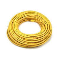 Monoprice 100FT 24AWG Cat5e 350MHz UTP Bare Copper Ethernet Network Cable - Yellow