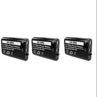 VTech BAT-5871 / GE-TL26413-3 Replacement Battery (3 Pack) For Vtech 102