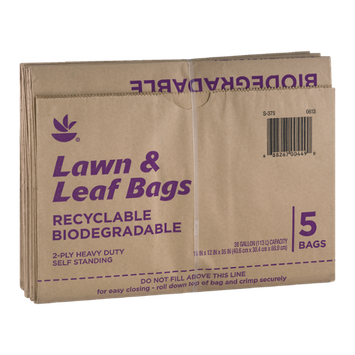 Ahold Lawn & Leaf Bars 30 Gallon Capacity - 5 CT