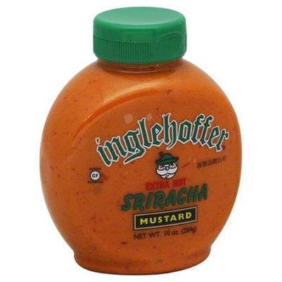 Inglehoffer Sriracha Mustard 10 Oz (Pack of 6)