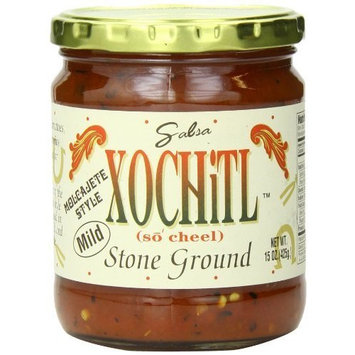 Xochitl, Salsa Stone Ground Mild, 15 OZ(Pack of 6)