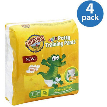 Earths Best Earth's Best Tots Potty Training Pants (Pack of 4)
