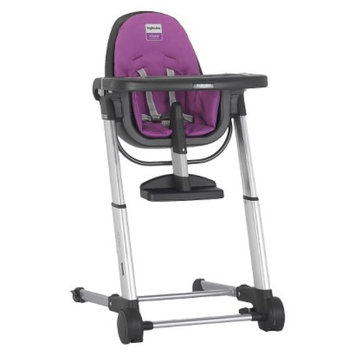 Inglesina ECOM Zuma Highchair - Gray/Fuchsia