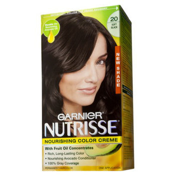 Garnier Nutrisse Hair Color Soft Black (20)