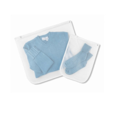 Whitmor Laundry Delicates Wash Bags, Set of 2 Mesh
