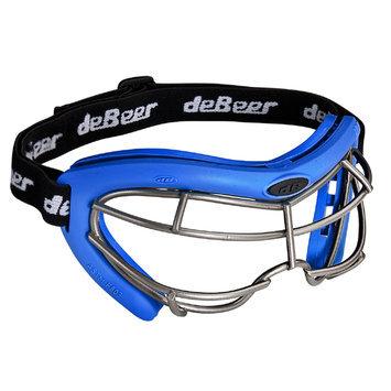J. Debeer & Son Inc. DeBeer Lacrosse Vista SI Goggle Royal Frame and Silver Wire