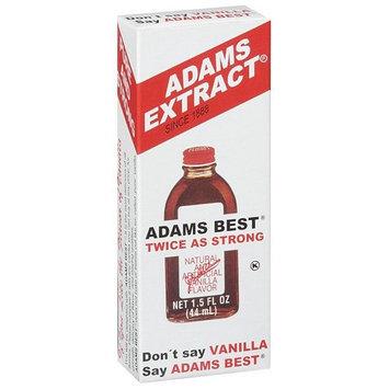 Adams Extract Adams Vanilla Extract, 1.5 fl oz