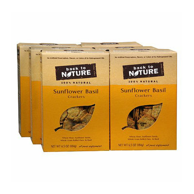 Back to Nature Crackers 6 Pack