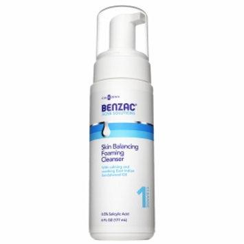 Benzac Skin Balancing Foaming Cleanser, 6 fl oz