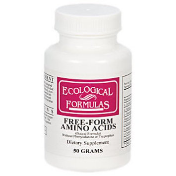 Ecological Formula Free-Form Amino Acids 50 gms