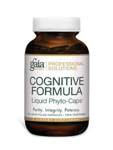 Gaia Herbs Professional - Cognitive Formula - 60 Liquid-Filled Capsules