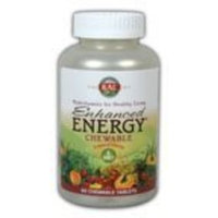 Enhanced Energy Adult-Mango Pineapple Kal 60 Chewable