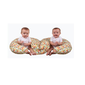 Leachco Cuddle-U2 Double Infant Support Lounger - Leaf Cluster Multi