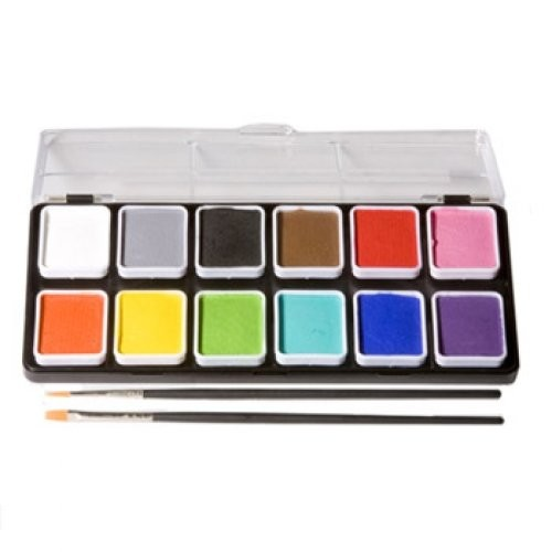 Wolfe Face Art Fx Wolfe Palettes - Essentials (12/colors)