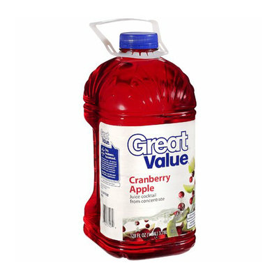 Great Value : Cranberry Apple