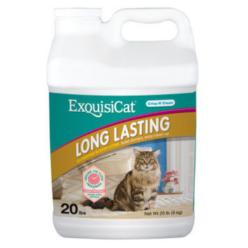 ExquisiCatA Long Lasting Clumping Scoop Cat Litter