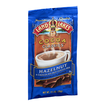 Land O'Lakes Cocoa Classics Hot Cocoa Mix Hazelnut & Chocolate