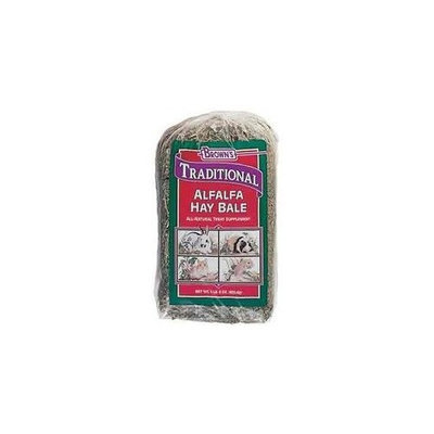 Mojetto Fm Brown's SBN44075 6-Pack Traditional Alfalfa Hay Bale Small Animal Food, 24-Ounce