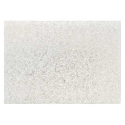 3M 4100-28x14 Polishing Pad,28 In x 14 In, White, PK10