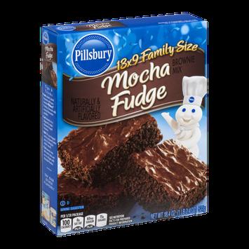 Pillsbury Brownie Mix Mocha Fudge Family Size