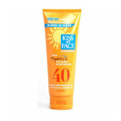 Kiss My Face Corp. Kiss My Face Sunscreen Natural Mineral Formula SPF 40 with Hydresia 3 fl oz