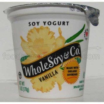 Wholesoy Yogurt Organic Organic 2 Soy Vanilla, Size: 24 Oz (Pack of 6)