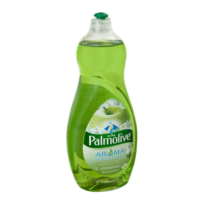Palmolive® Liquid Dish Washing Concentrated Detergent Green Apple