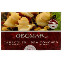Gourmet Chilean Seafood Geomar Gourmet Seafood, Caracol Sea Conch, 3.2-Ounce Boxes (Pack of 5)