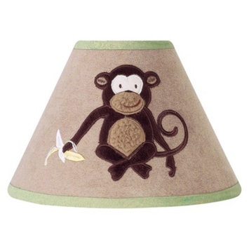 Jo Jo Designs Sweet Jojo Designs Monkey Time Lamp Shade