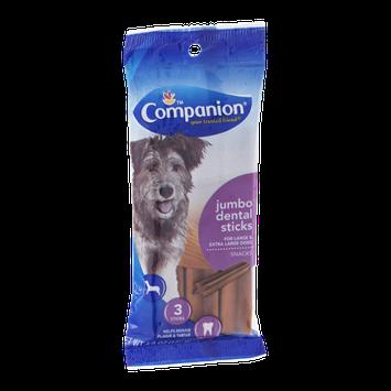 Companion Jumbo Dental Sticks for Large & Extra Large Dogs - 3 CT