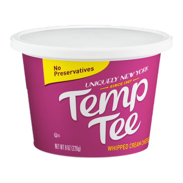 Temp Tee Whipped Cream Cheese