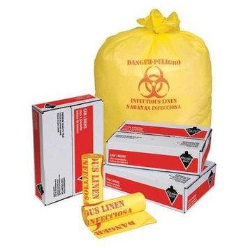 TOUGH GUY 31DK91 Hospital Isolation Bags,44 gal, PK200