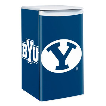 Boelter Brands NCAA BYU Cougars Compact Refrigerator 3 2 Cubic Feet HHK0KX6V5-1614