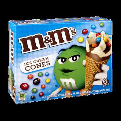 M&M'S® Ice Cream Cones