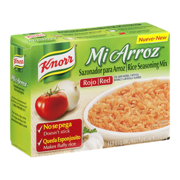 Knorr Mi Arroz Rice Seasoning Mix Red - 4 CT