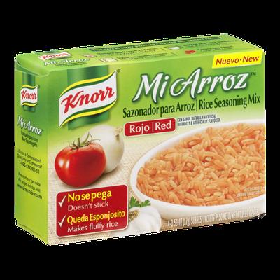 Knorr Mi Arroz Rice Seasoning Mix Red - 4 CT